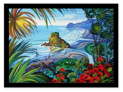 Box Frame - Breeze Piha