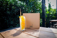 15cm Cocktail Wheat Stem drinking Straw - Box of 500