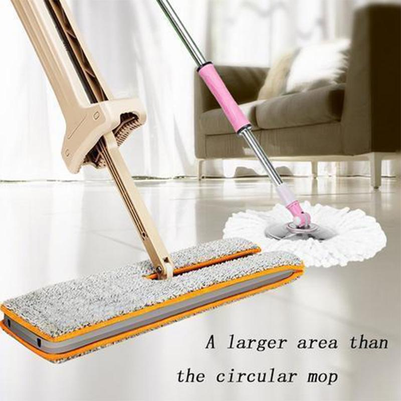 Double Sided Flat Mop