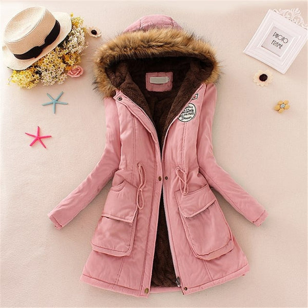 Hooded Long Parka