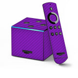 Amazon Fire TV CUBE Skins - Carbon Fiber