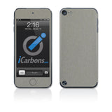 iPod Touch 5th Gen Skins - Brushed Metal - iCarbons - 2