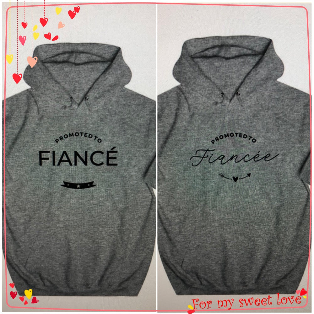 Gorgeous Couple Hoodies