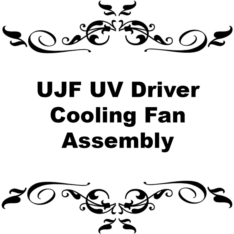 UJF UV Driver Cooling fan Assembly
