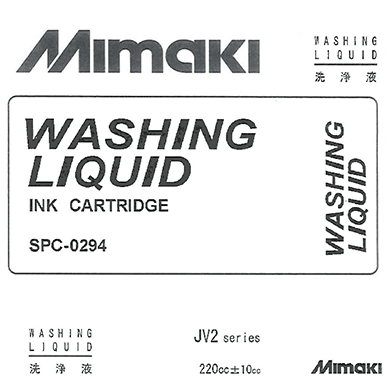 Mimaki - Mild Solvent - 220ml Washing Liquid Cartridge