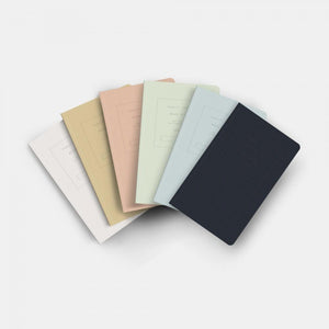 "5x8"" -  Soft Cover Notebook Box Set - Embossed Collection Series 1 (Light)"