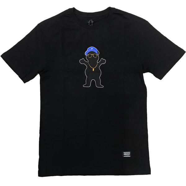 Camiseta Grizzly Boo Johnson Pro Bear - Preto