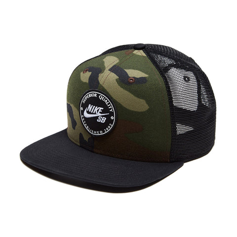 Boné Nike SB Patch Trucker - Camo