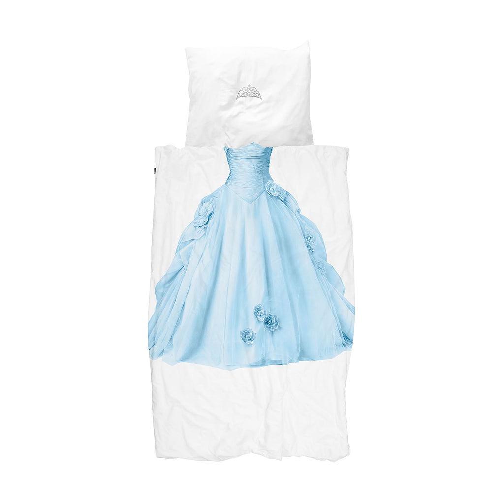 Blue Princess Duvet Cover