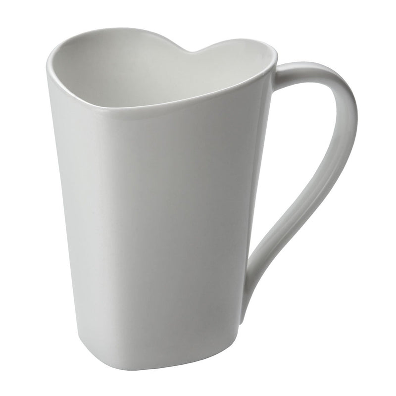 To Mug Heart Shaped by Alessi