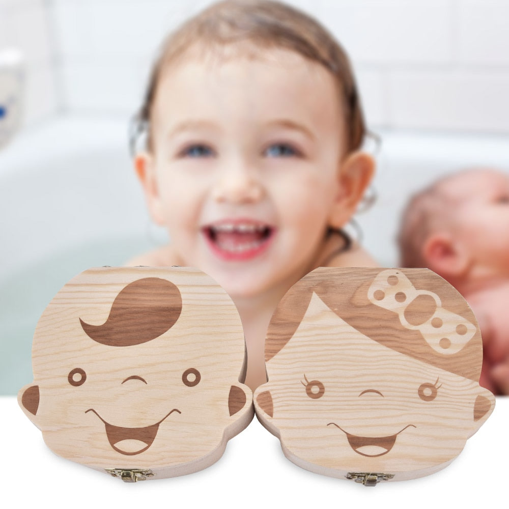 Baby Memory Box - Save Your Baby's Teeth!
