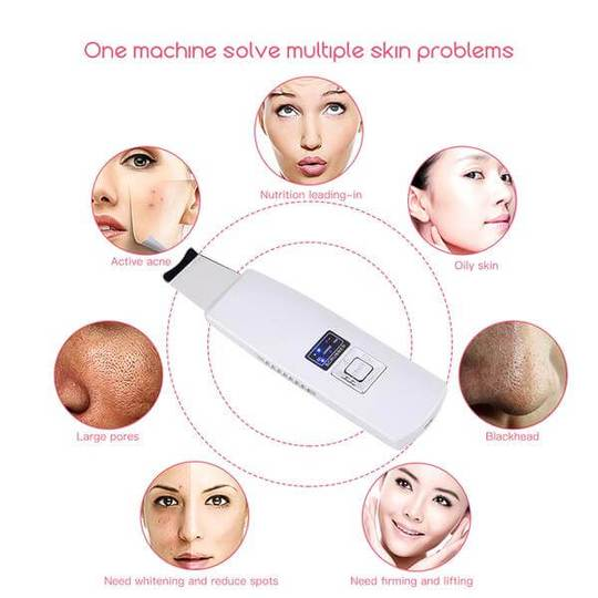 SoniCleanse - Ultrasonic Skin Scrubber For Perfect Skin