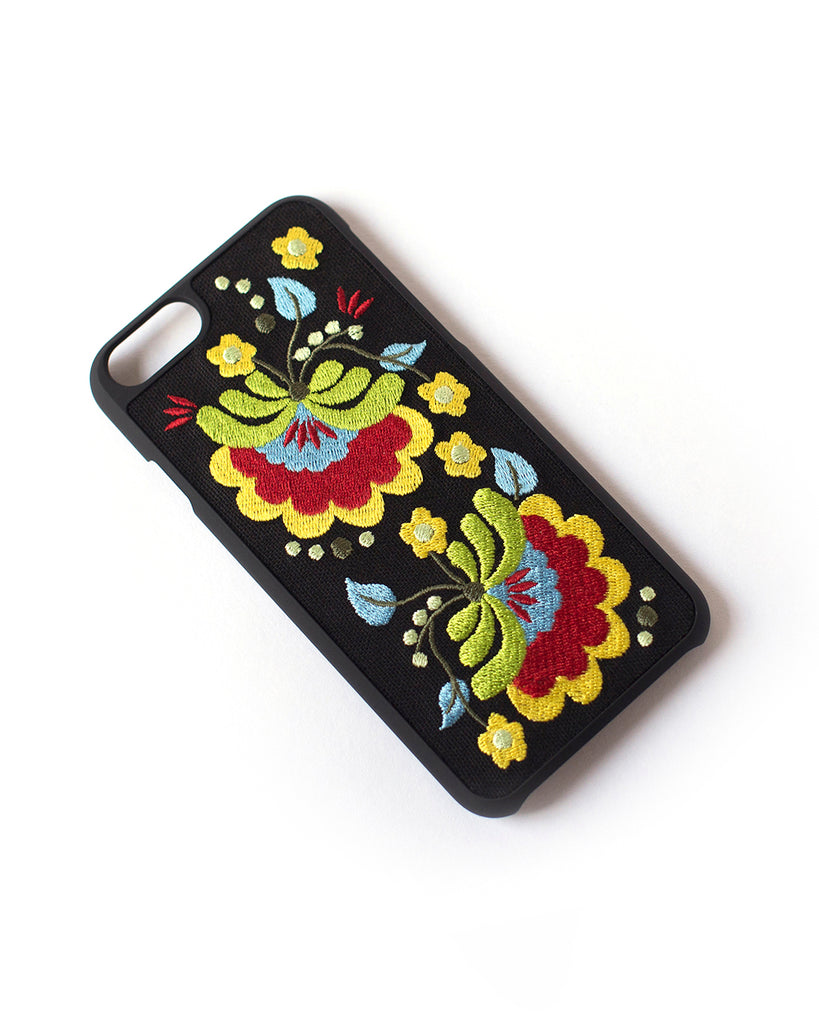 Better Off Thread Embroidered Case (iPhone 6/6S/7/8): Warm
