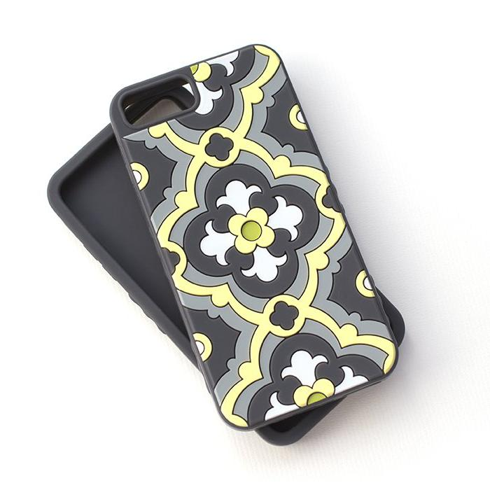 Kaleidoscopic Multi-Faceted Case (iPhone 6/6S/7 Plus) : Sunshine/Slate