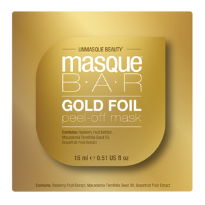 Masque Bar Gold Foil Peel of Mask Revitilazante 15ml