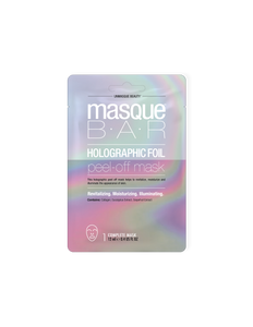 Masque Bar Holographic Peel off Mask 12ml Revitalizante Hydratante y Illuminador