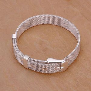 Silver Plated Bracelet S925 Stylish Silver Fashion Jewelry