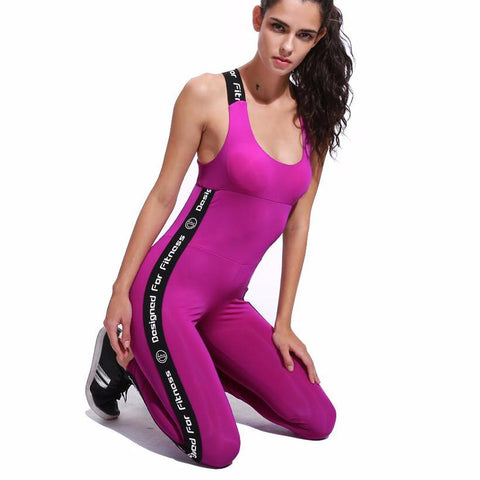 Image of Women's Fitness Gym Yoga Set Sports Suit