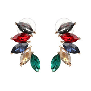 Good Quality Design Jewelry Full Crystal Fashion Earring