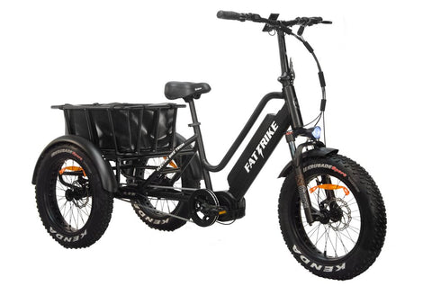 Electric Fat Trike - Mid-Drive