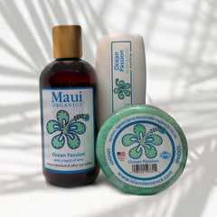 GARDENIA MAUI ORGANICS TRIO COLLECTION