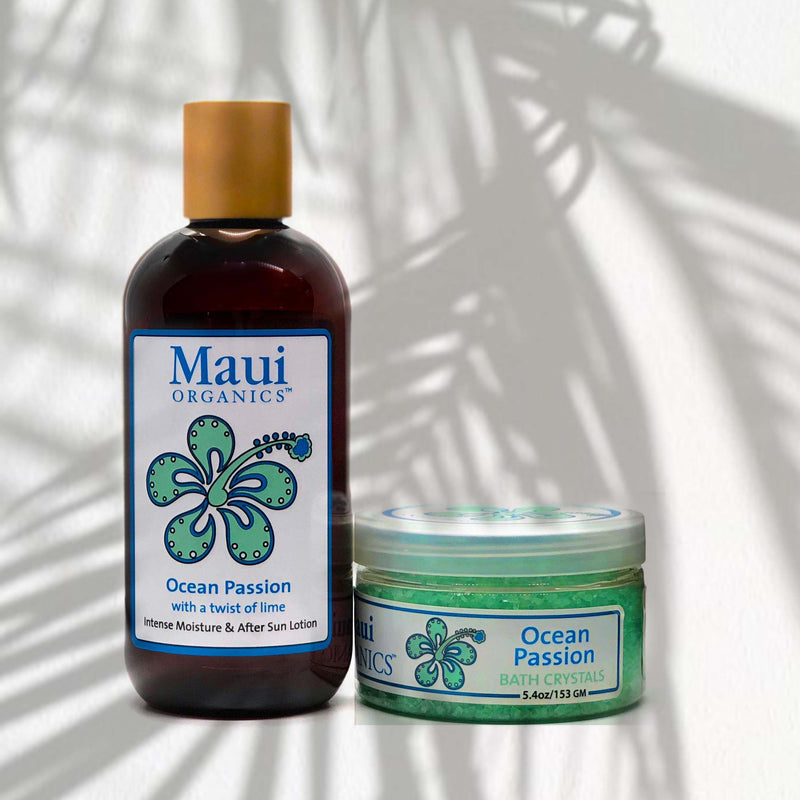 HAWAIIAN COCONUT MAUI ORGANICS BODY LOTION & SALTS
