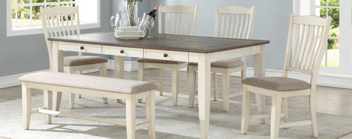Lakewood Grey/White Dining Room Set