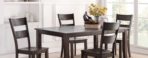 Wirebrush Dark Oak Dining Room Set