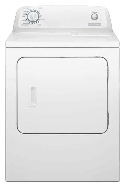 6.5 Cu.Ft. Top Load Electric Dryer VED6505GW