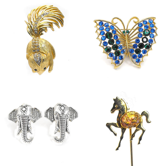 Animal Jewelry at Q Vintage Jewelry