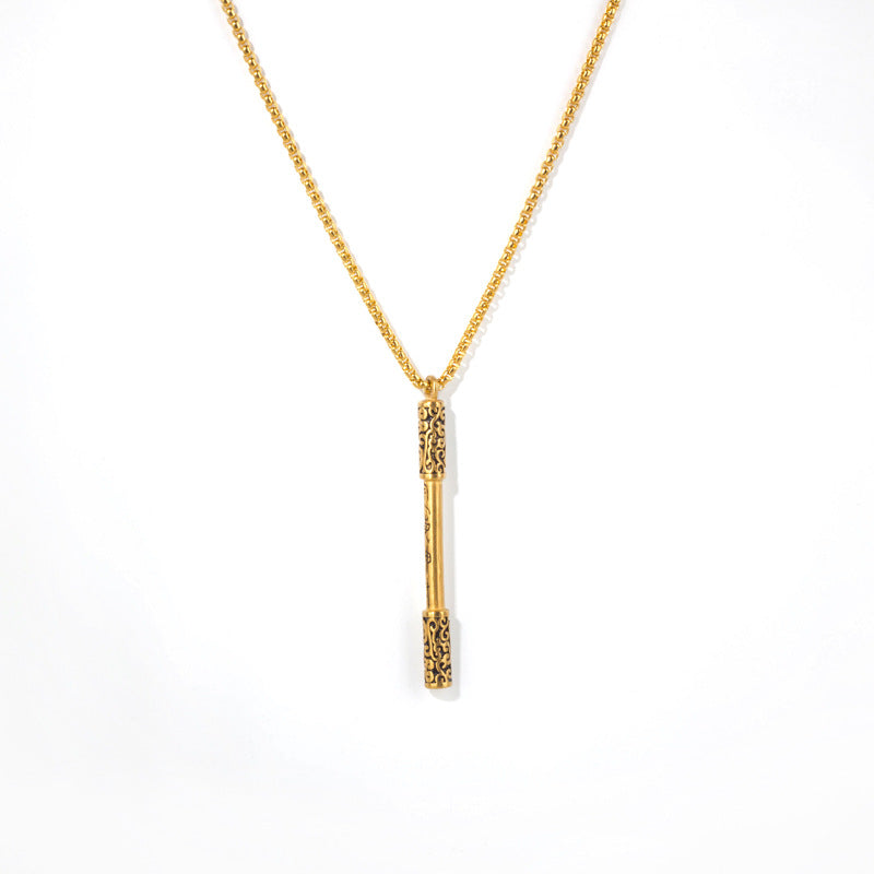 B006 Golden Cudgel Necklace