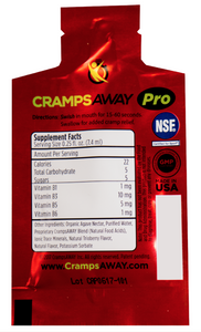 CrampsAWAY Pro Sample 4 Pack for Teams