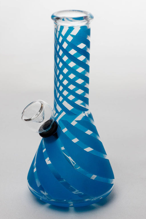 "6"" conical base glass water bong - One wholesale Canada"