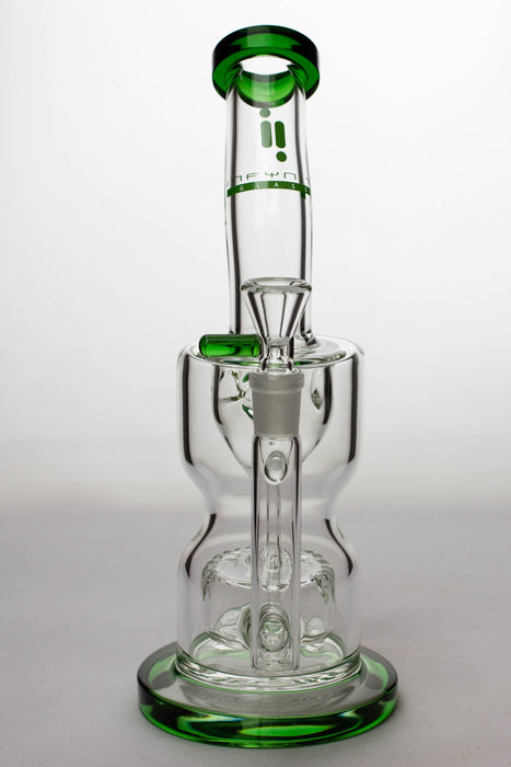"11"" infyniti glass barrel diffuser water recycled bong - One wholesale Canada"