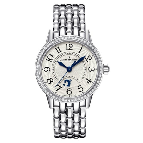 Jaeger-Lecoultre Rendez-Vous Night & Day 34Mm Steel & Diamonds (3448120) - Watches Boston