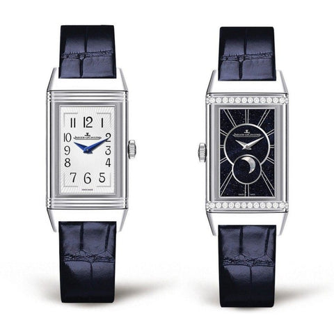 Jaeger-Lecoultre Reverso One Duetto Moon Stainless Steel & Diamonds (3358420) - Watches Boston
