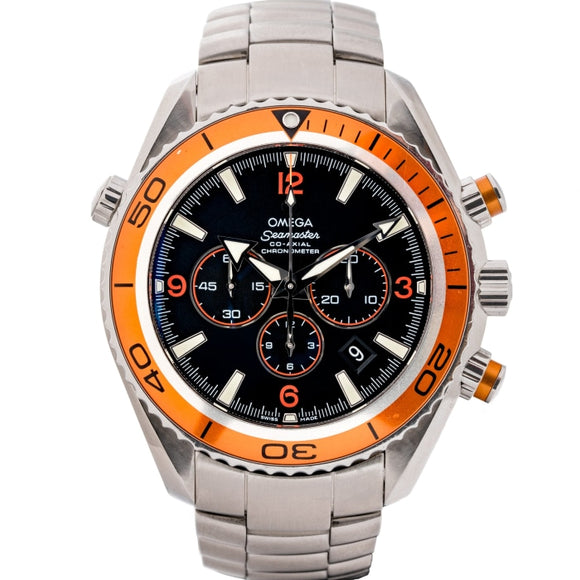 Omega Seamaster Planet Ocean Stainless Steel 45.5mm (2218.50.00) - WATCHES Boston
