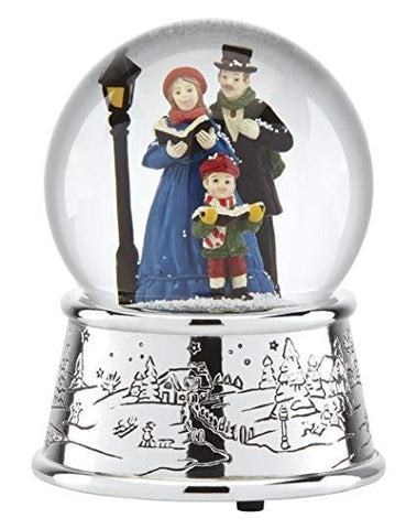 Reed & Barton Carolers Village Snowglobe - Home & Decor Boston