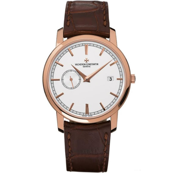 Vacheron Constantin Traditionnelle Automatic 38Mm Rose Gold (87172-000R-9302) - Watches Boston