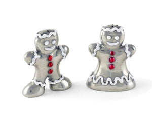 Vagabond Gingerbread Couple Salt & Pepper Shaker - Gifts Boston