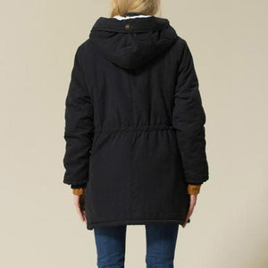 Trendy Thick Hooded Jacket