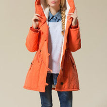 Load image into Gallery viewer, Trendy Thick Hooded Jacket