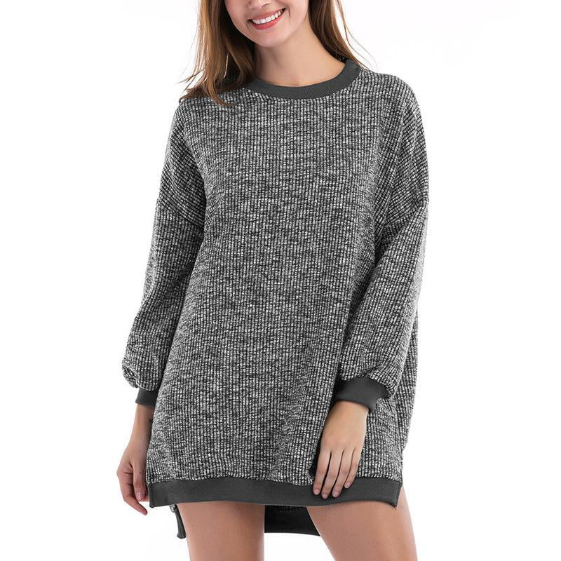 Irregular Long Sleeves Sweater