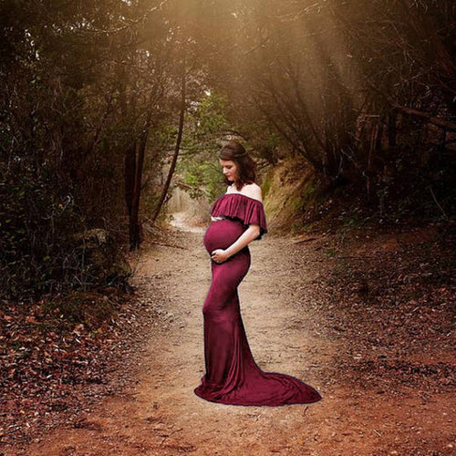 Maternity Photo Shoot Dress