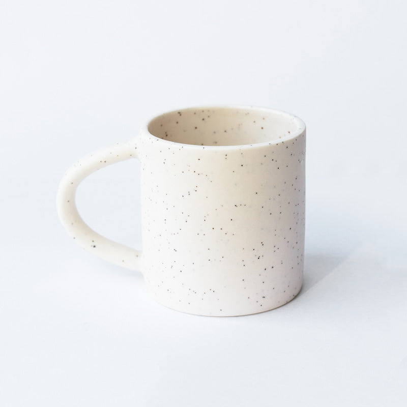 Small Mug - Simple Speckled White
