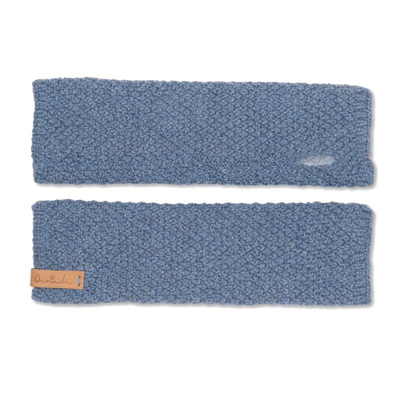 Stina Half Mitts Sky Blue