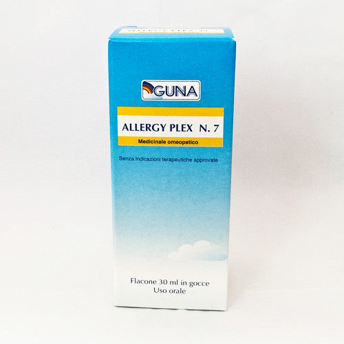 Guna Allergy Plex 07 (Cereals 1 inc Gluten) - Drops