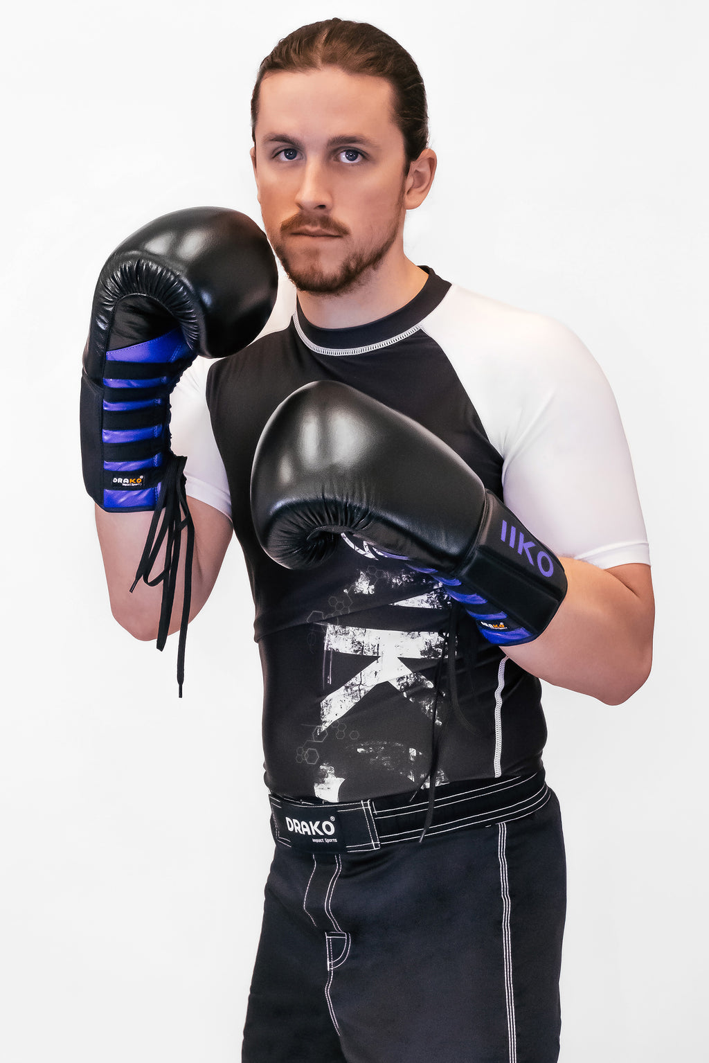 DRAKO NRX EXPERT LACE UP BOXING GLOVES