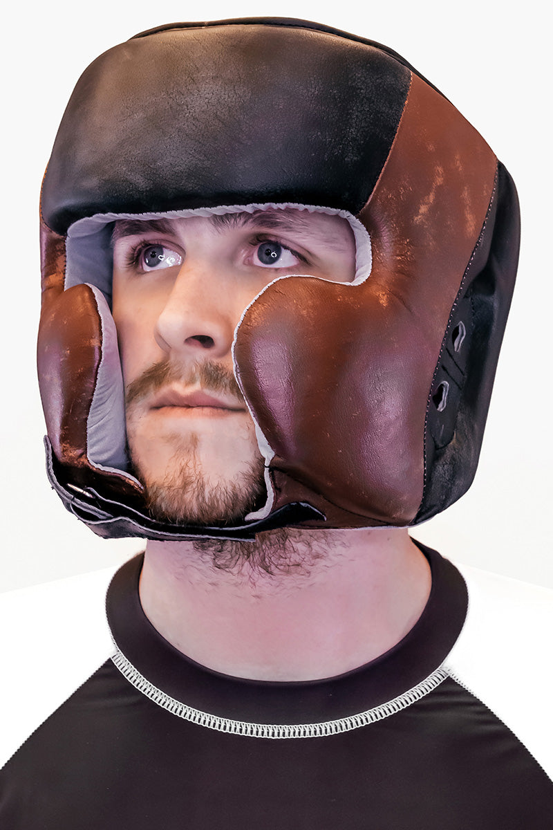 DRAKO OLD BOY TRAINING BOXING HEADGEAR