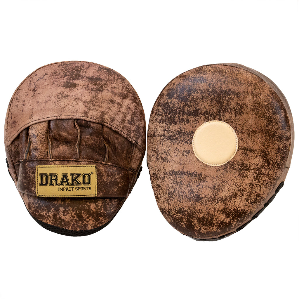 DRAKO OLD BOY LEATHER FOCUS MITTS